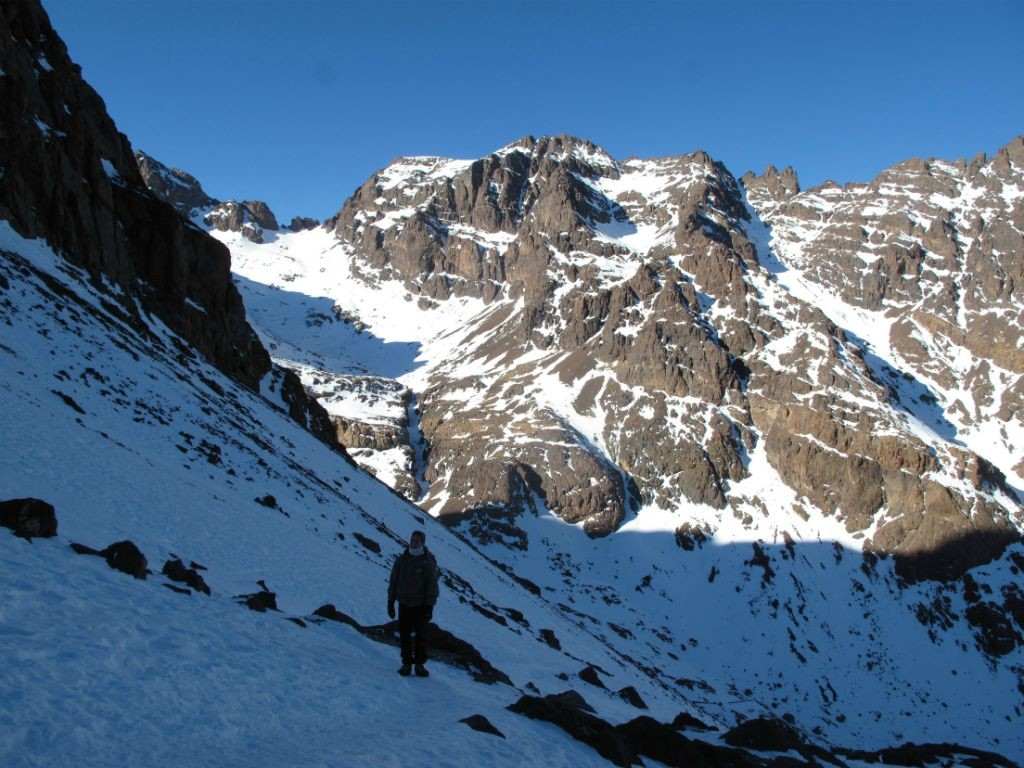 Le lendemain, vers 3500 mètres