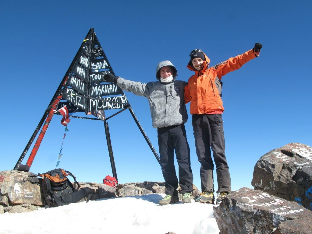 Sommet du Toubkal (4167 m) !