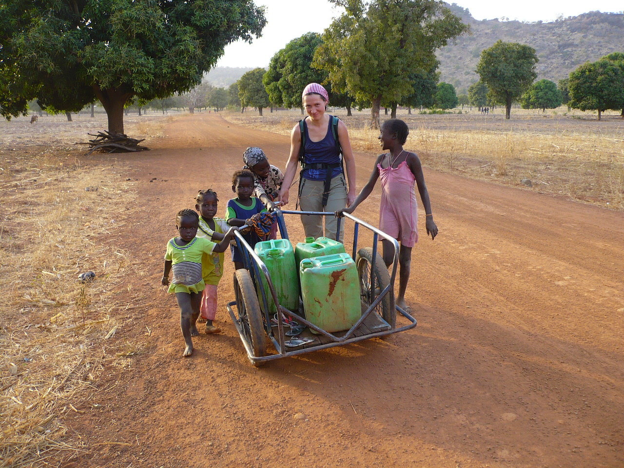 retour par la piste de Djendjénné