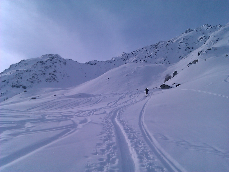 Juste en dessous de l'alpage de d'Orchèra, alt 2098m
