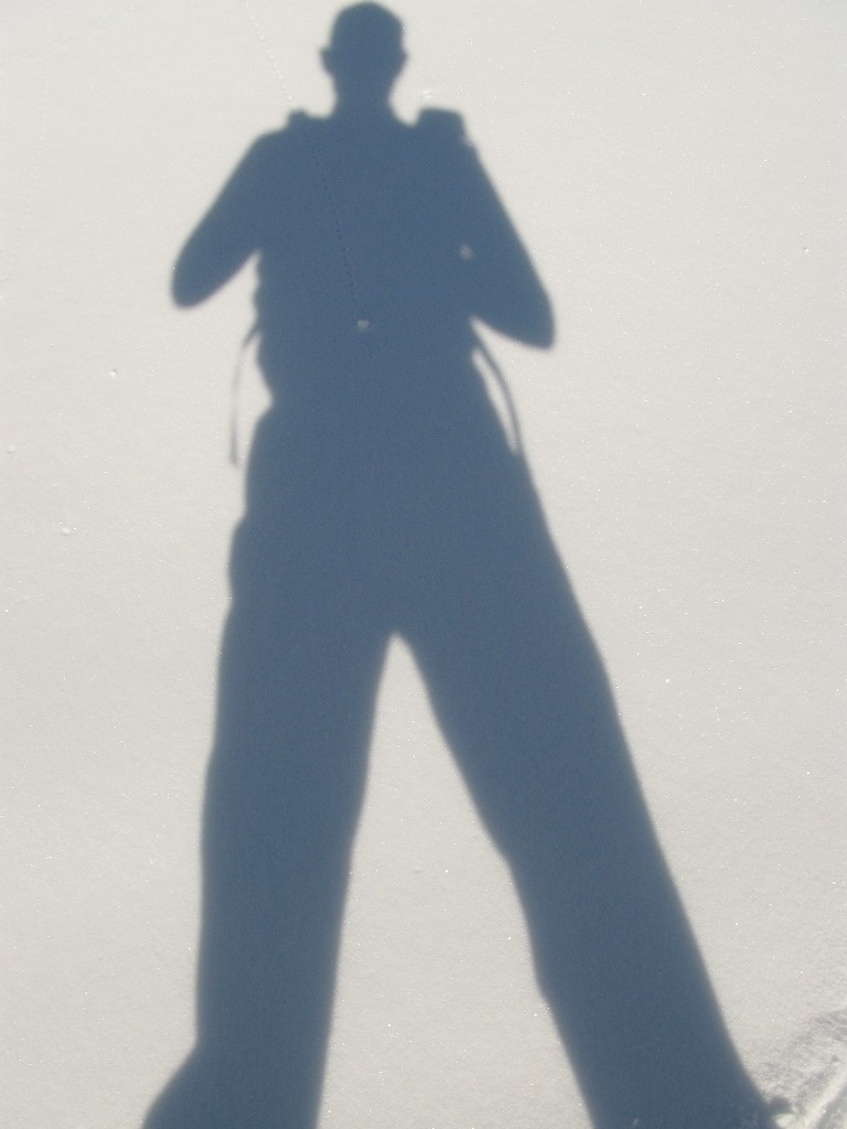 Autoportrait à l'aide du soleil