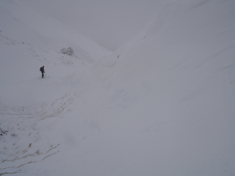 Sérac du Mont Ceint. (en été c'est tout plat !)