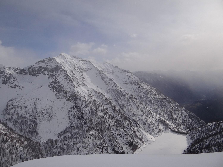 Lac d'Agàro et les monts Forno et Gorio