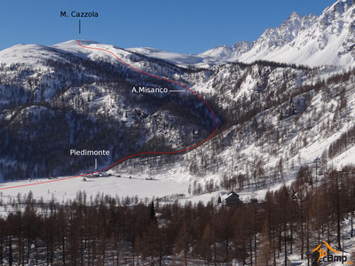 M.Cazzola depuis Alpe Dèvero