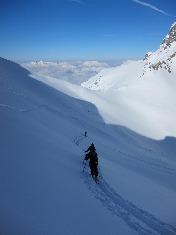 Les Alpes vaudoises en toile de fond