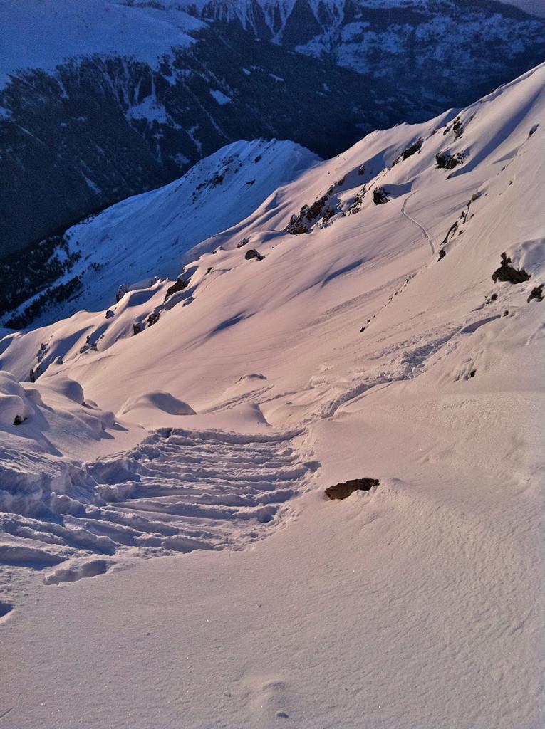 Brèche 3195, Sasseneire, fév. 2012