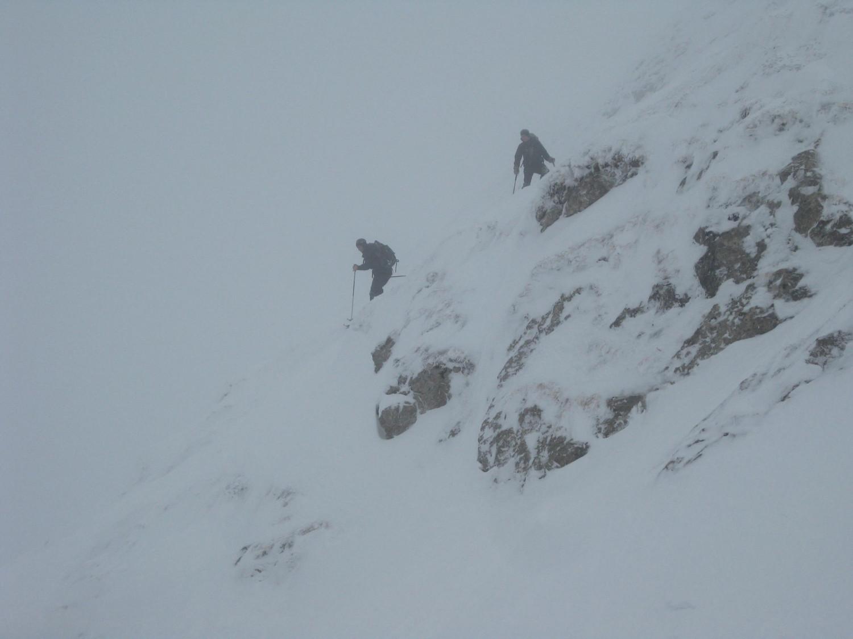 traversée depuis le creux des neiges
