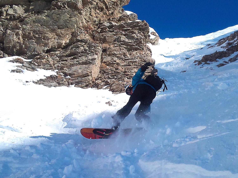 snowboard de combat