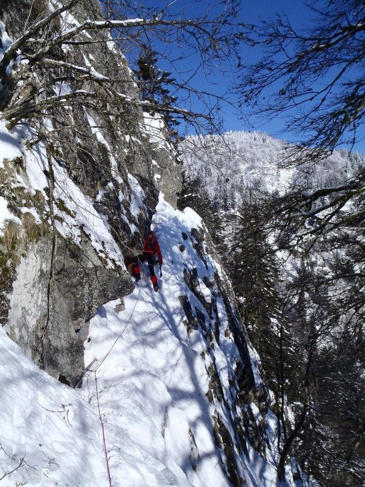 Sentier de roches