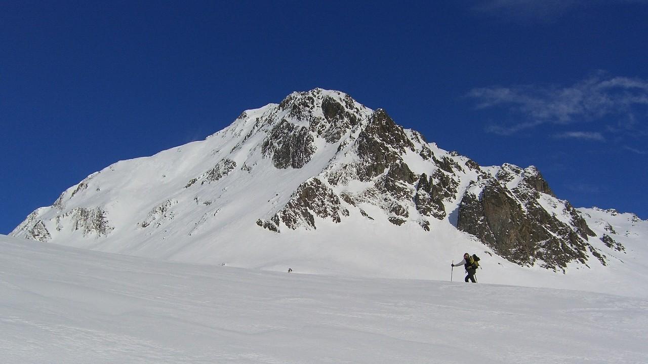 Col de Comborsier-retour au passage du dard; sous le Gd Mont