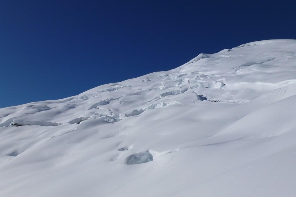 Sembra il ghiacciaio dell'Alphubel