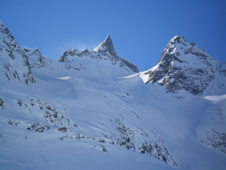 ...la punta della Valdeserta dalla Binntal...