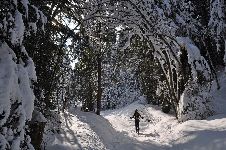 arc en neige