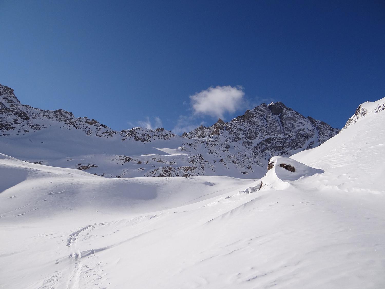 Le versant N du Berriot Blanc