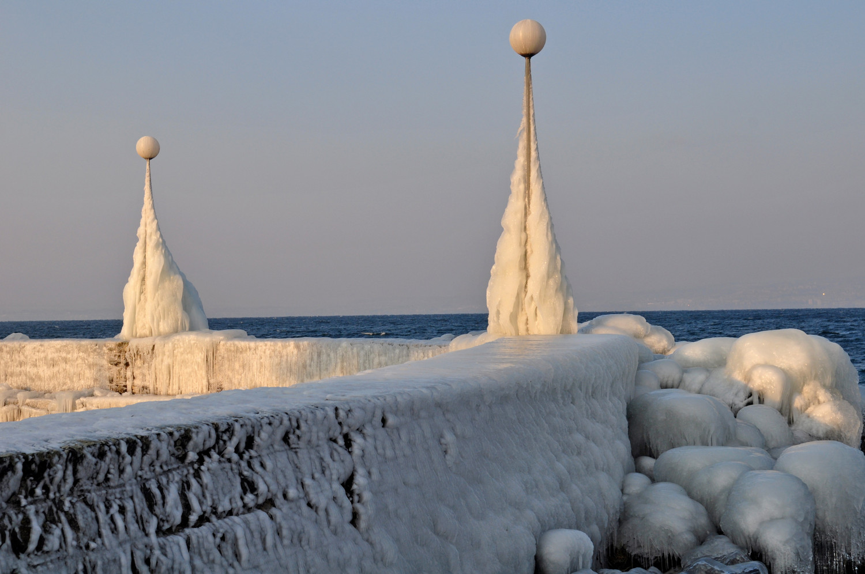statues de glace