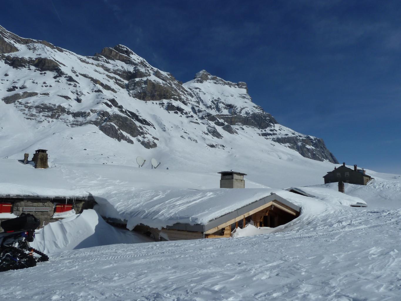 Anzeindaz, refuge Giacomini