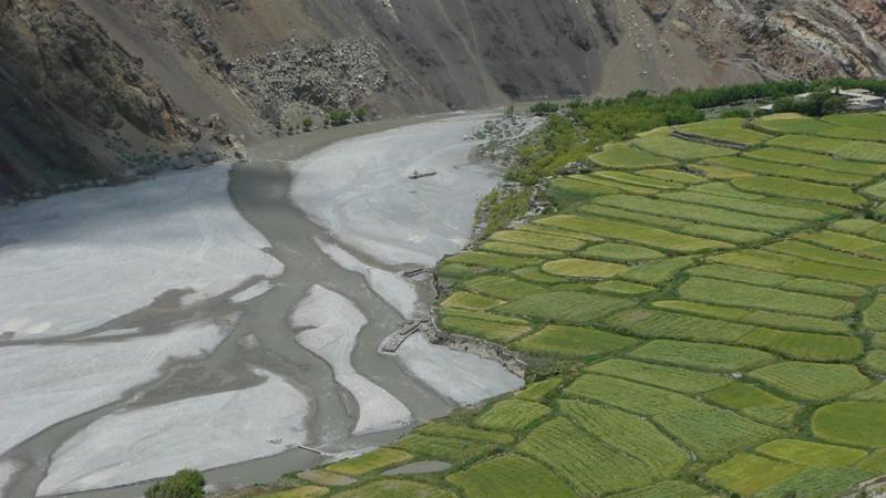 Méandres de la Kali Gandaki