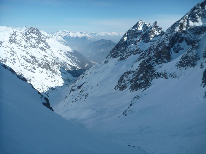 Glacier du mort et vallon de Bérard