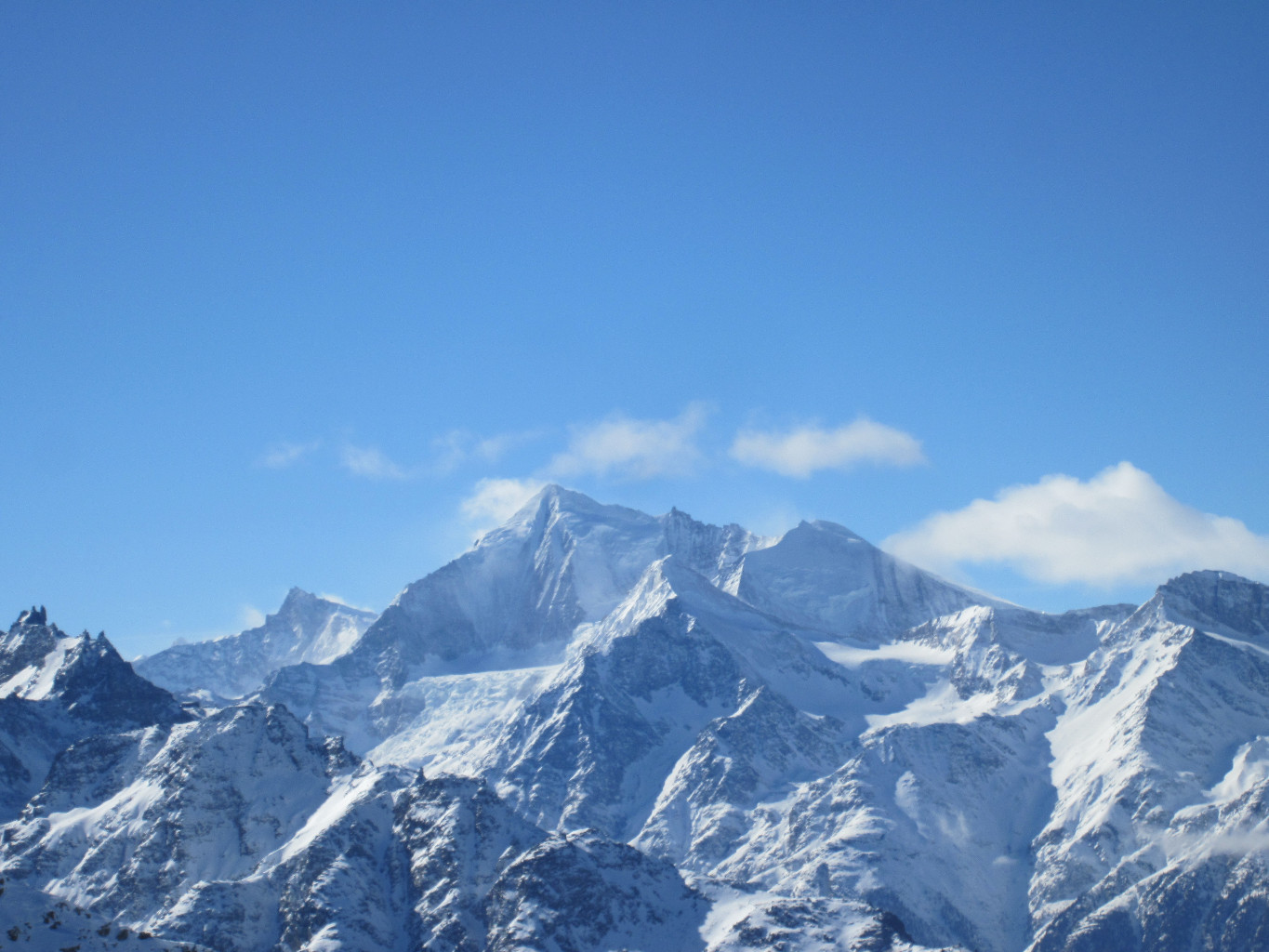 Weisshorn pour Olivier