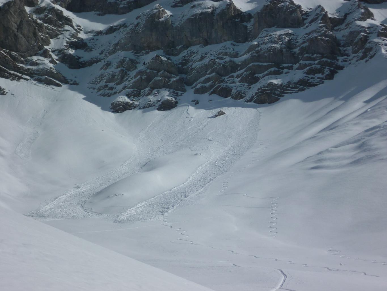 Plaque déclenchée par un skieur ?