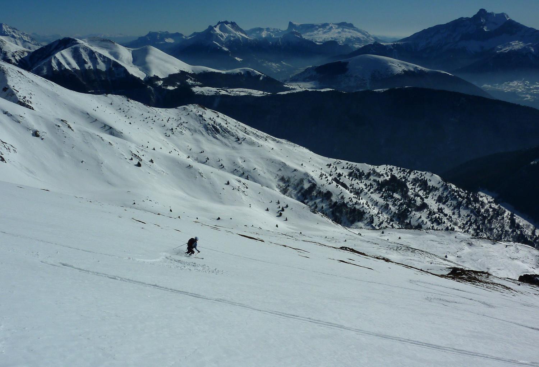Ski grand large