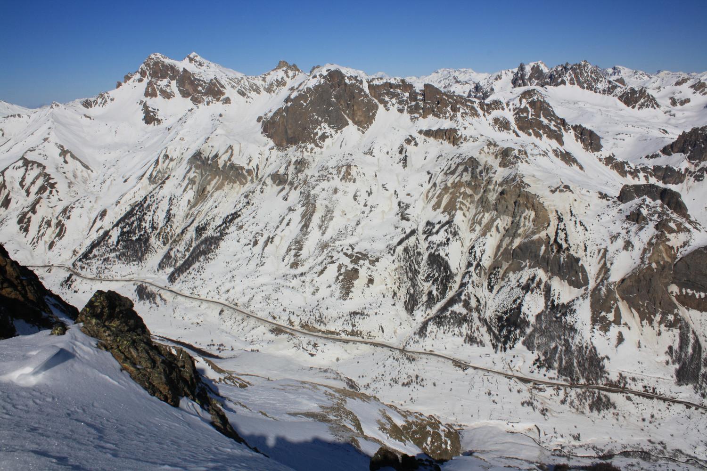 De la Brèche 2900m, vers le NW
