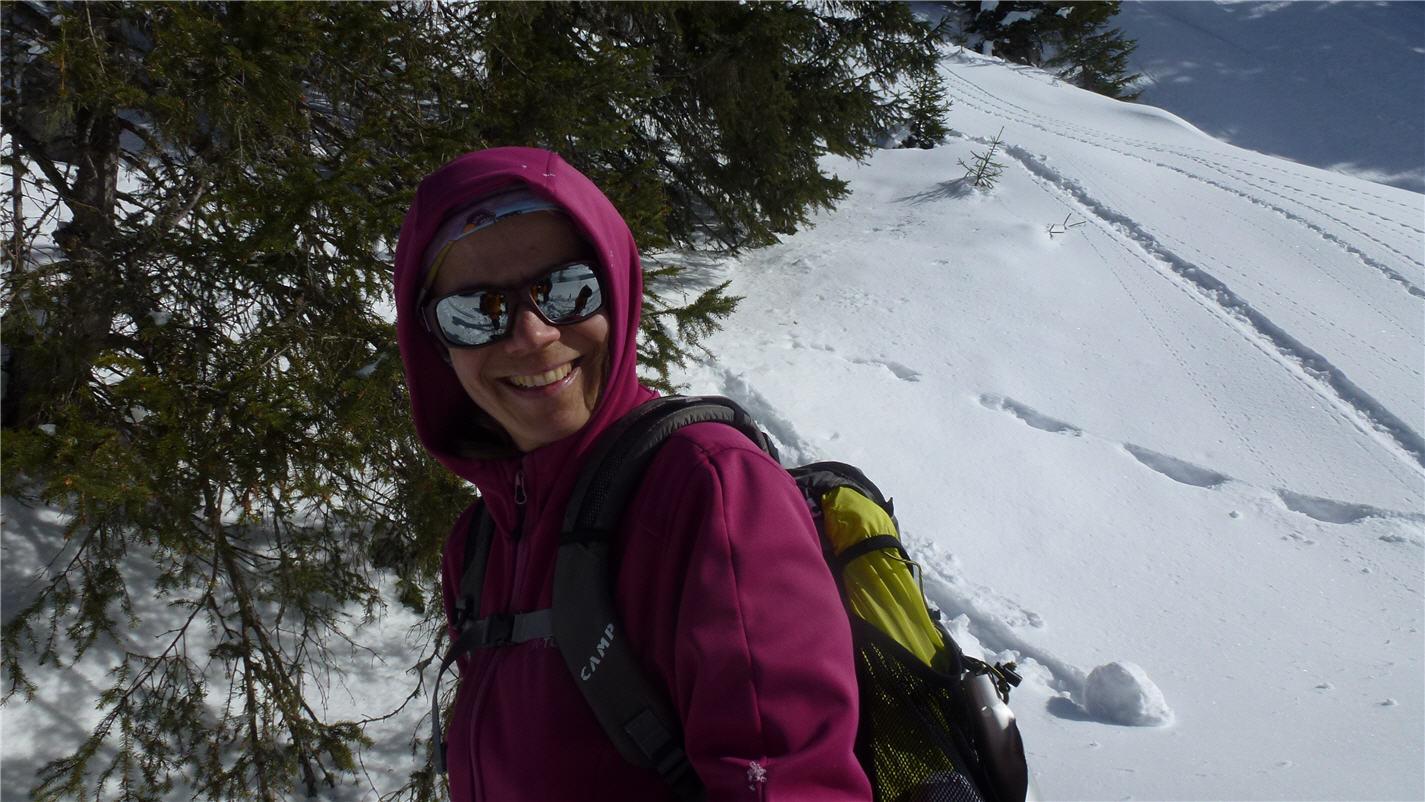 La vie est belle en montagne avec poudre et soleil (image M. Degen)