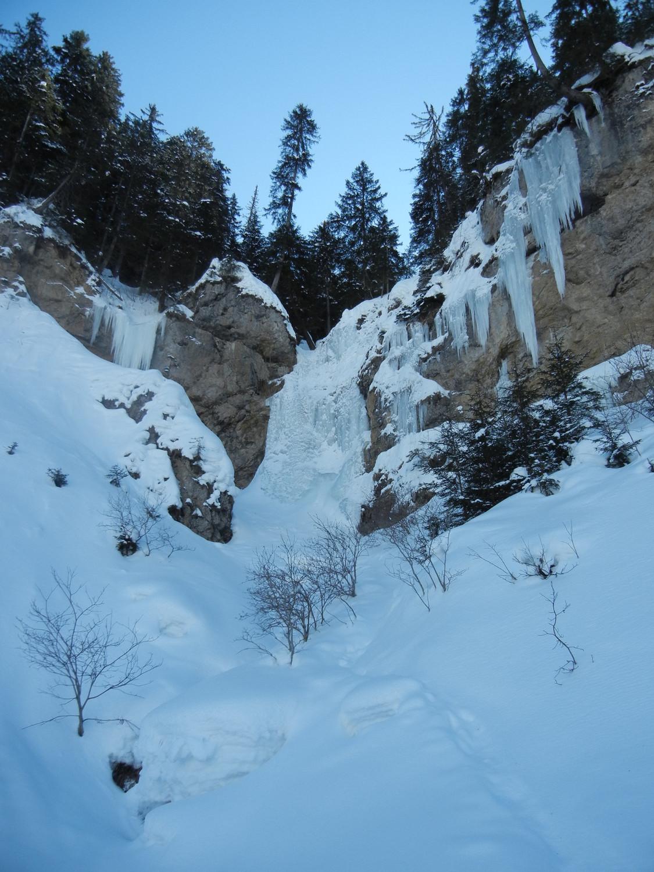 cascade de Morgins