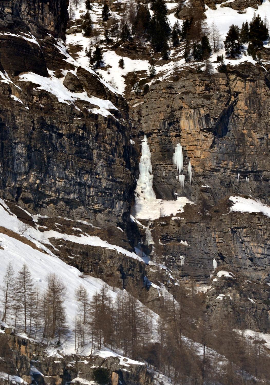 Cascade versant S du vallon du torrent de Blaisil