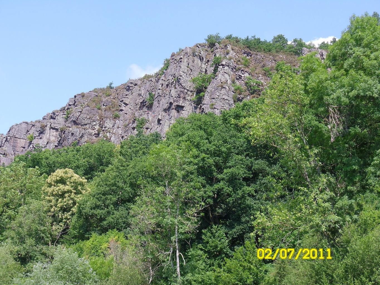 Clécy - vue depuis l'Orne