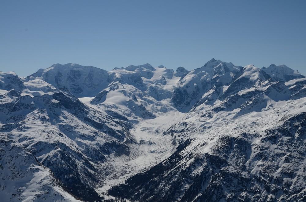 Val Morteratsch dal Piz Clüx 3130m