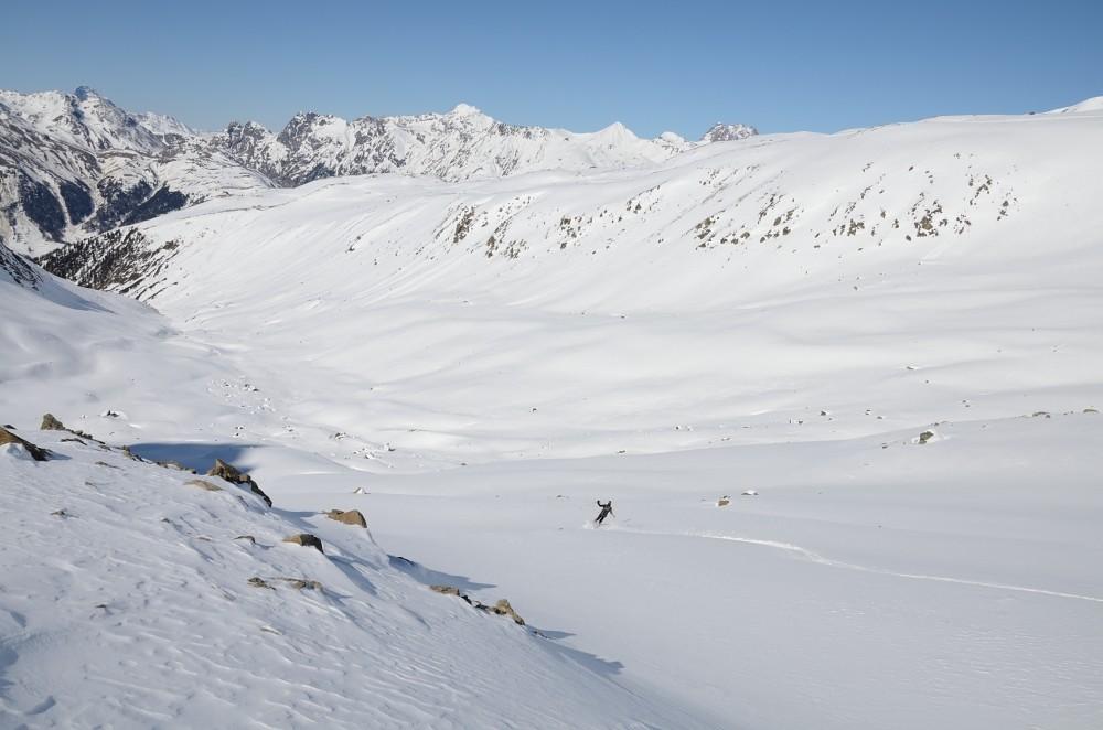 discesa in Val Muragl