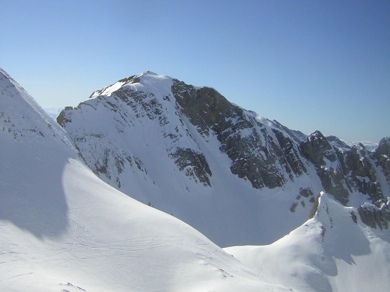 Mont Fleuri face NNE
