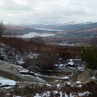 Fort William et son fjord