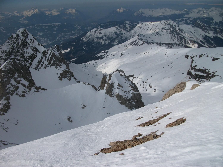 vallon de Bostan depuis le sommet