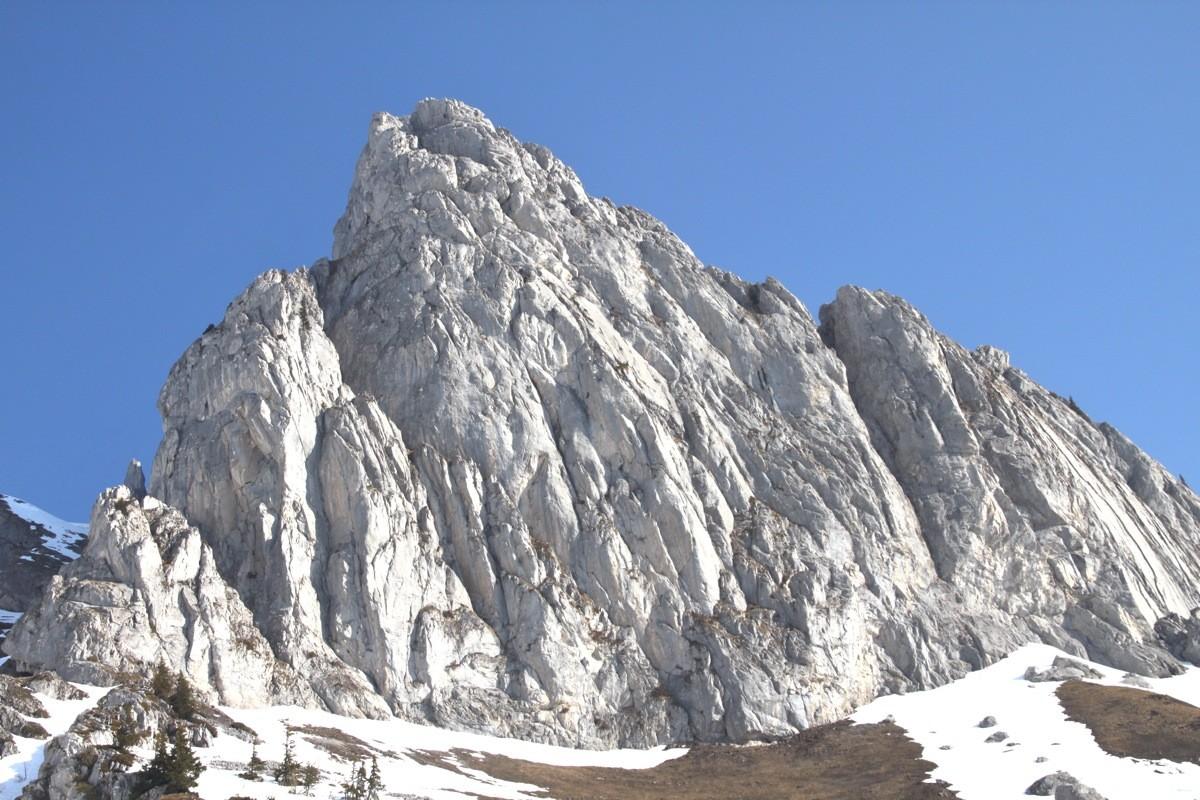 Les Cornettes de Bise, haut lieu de la grimpe