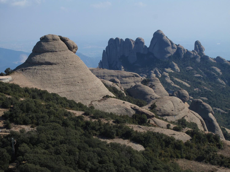 El Moro (1206 m) et l'Elefant (1156 m)