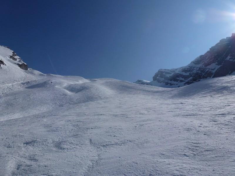 Piste de ski désormais