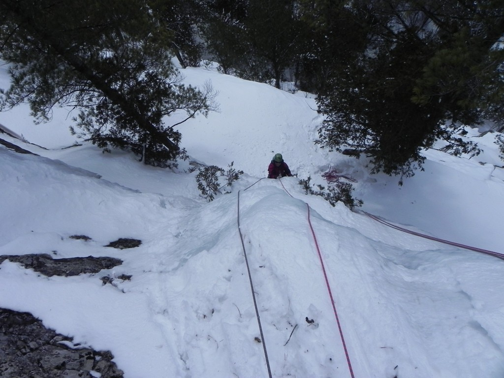 Tranchant - les derniers mètres de Bombe Glacée