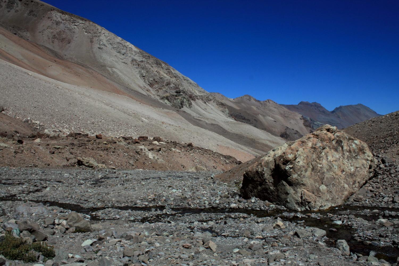 la vallee au dessous de Piedra Numerada