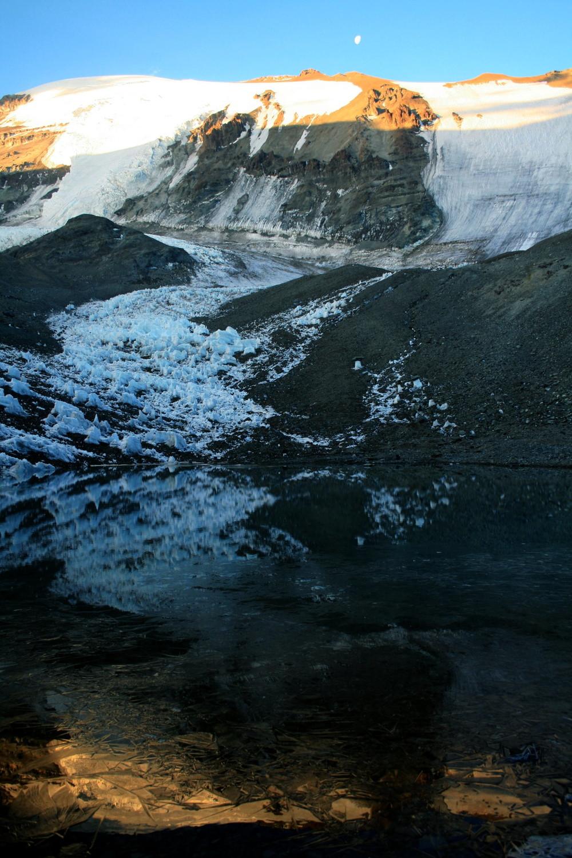 La Hoya: El Plomo et le lac