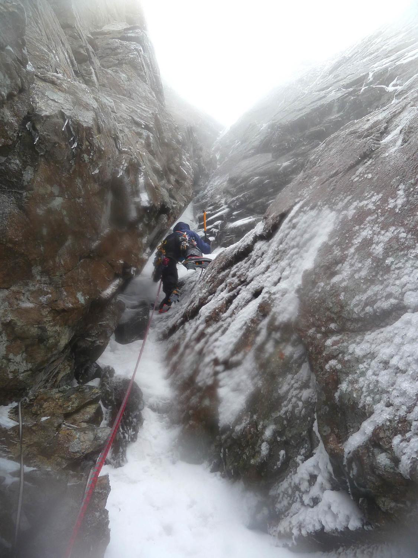 L'appareil photo commence à sérieusement morfler avec l'humidité ambiante (Tonio L1 Winter Chimney)