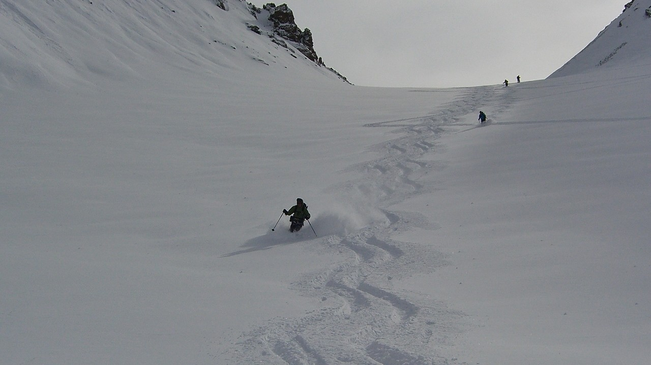 Silvretta-J6-le jour à ne pas rester couché. Tirolerscharte; acte 1