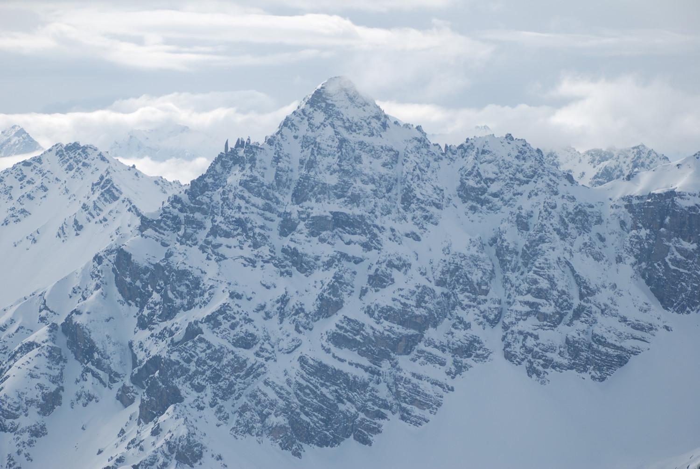 Piz Plavna Dadaint, Dolomites de Basse-Engadine