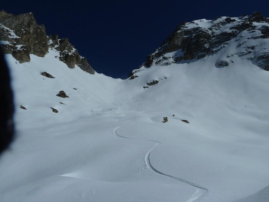 Badescure versant SW