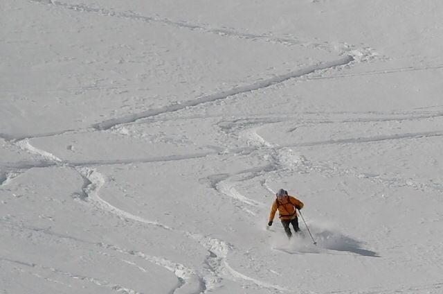 nevi polverose Austriache