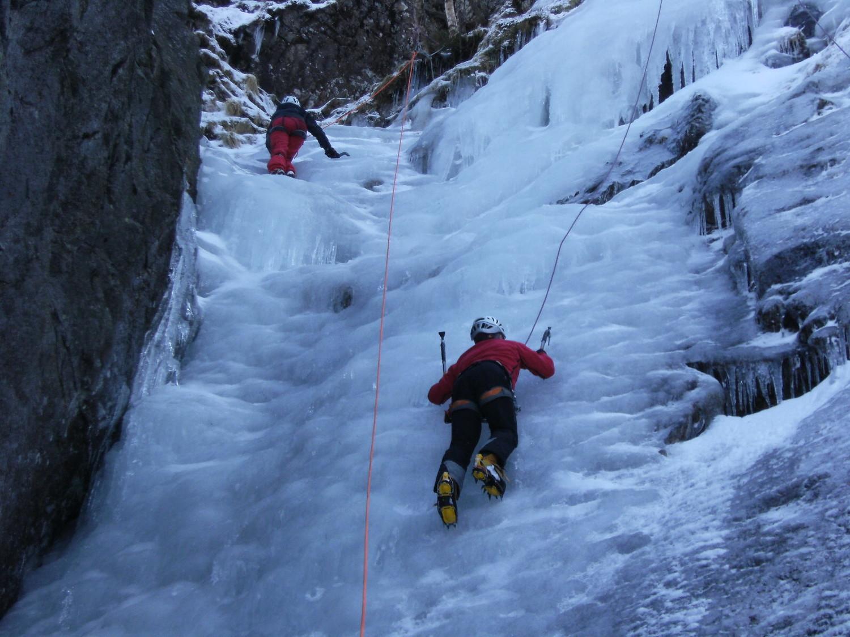 Laurent et Chantal, grimpe en famille !