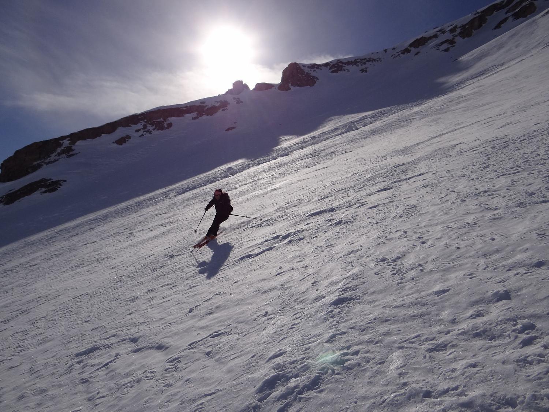 Grande Rochère - Conditions de neige très acceptable