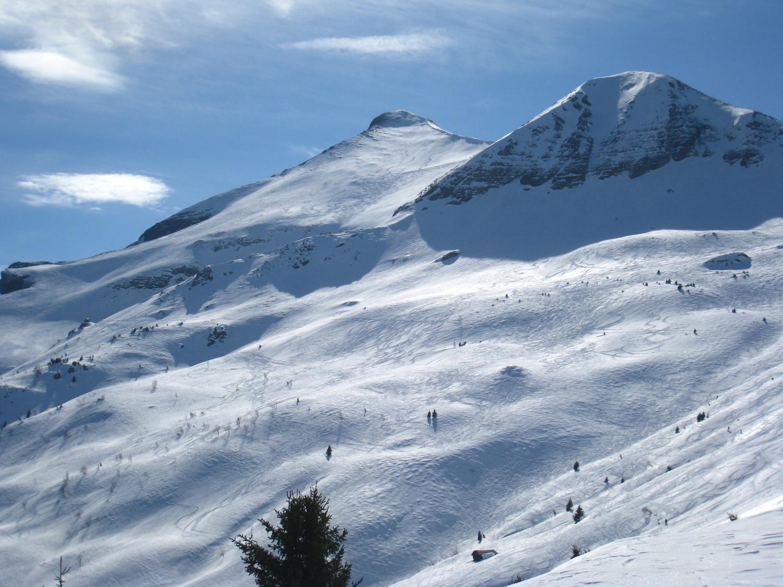 Mt Joly - parcours des crêtes en passant par Mt. Géroux