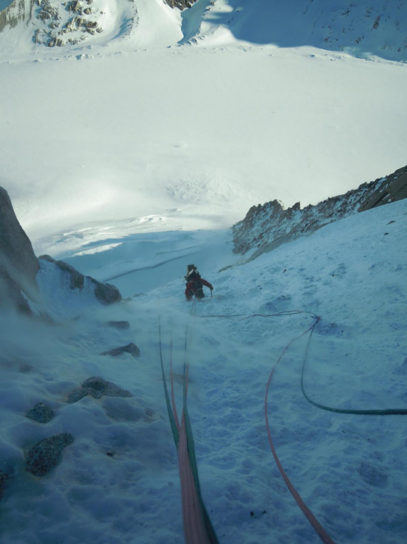 Dans la glace et de neige, ça déroule presque !